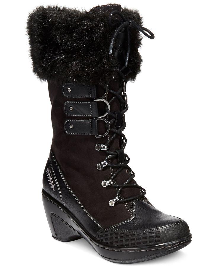 jbu s scandinavia faux fur cold weather boots