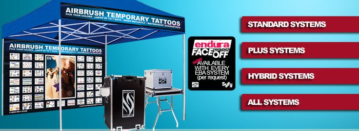 Temporary Airbrush Tattoo Systems - EBA