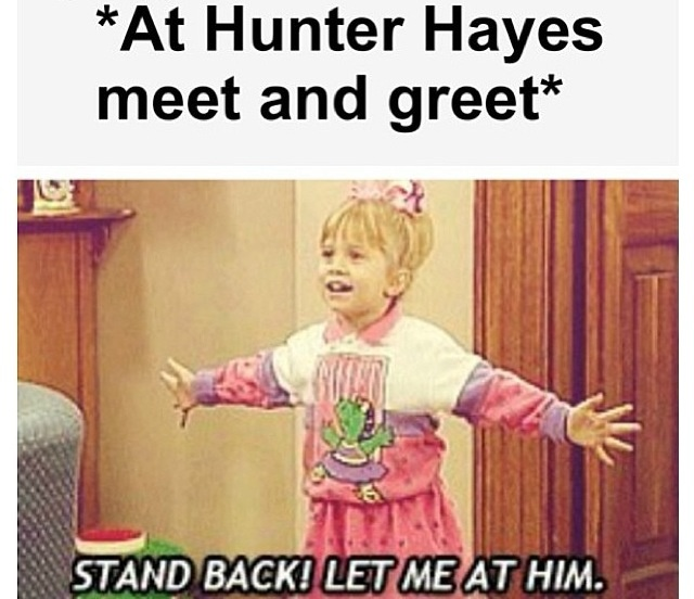Let me at him! Not gonna lie this would be me if I ever got to meet him again❤️