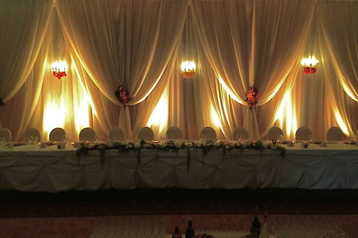 15 best backdrops that are drop dead gorgeous images on pinterest award winning wedding rentals and decor in edmonton and area a chair to remember with backdrops chair covers linen rentals and uplighting junglespirit Images