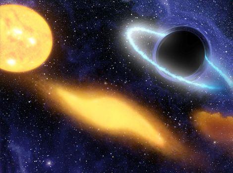 宇宙 - 写真 - ブラックホールの深淵 - 恒星を飲み込むブラックホール - ナショナルジオグラフィック 公式日本語サイト(ナショジオ)