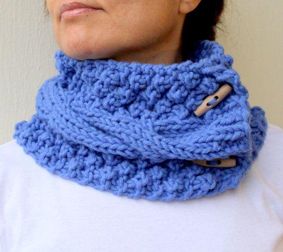 Blue Blazing cowl <3: Winter Accessories, Azur Blue, Knits Scarves, Blue Knits, Blue Blaze, Accessories Azur, Cozy Scarfs, Scarfs Things, Scarfs Idea