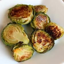 Crock Pot Brussel Sprouts  1 lb brussels sprouts  3 T butter  1 T Dijon mustard  1/2 tsp kosher salt  1/2 tsp black pepper  1/3 c water  1/2 T of maple syrup    Directions: Wash and trim your brussel sprouts. Cut them in half and place in your crock pot. Add butter, mustard, salt, pepper, syrup and water. Cover and cook on low for 4 to 5 hours.
