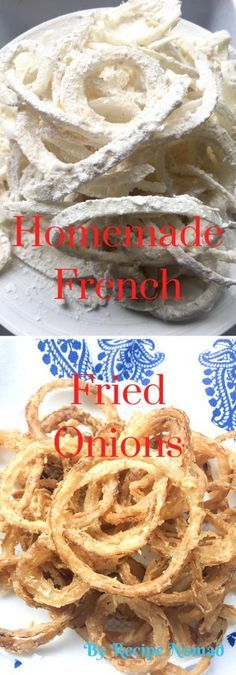 Skip the store bought French's Fried Onions and make your own! So much tastier and healthier when it's homemade!  Homemade French Fried Onions | Recipe Nomad