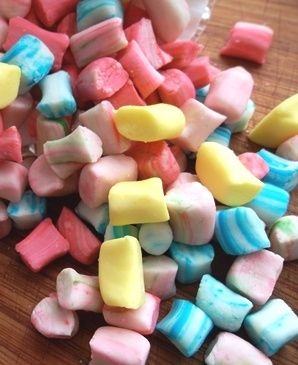 Homemade butter mints (Love  Flour). If your only experience with butter mints has been those little rock-hard pastel pillows at bridal showers, these delicate, creamy candies will amaze you.