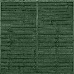 Ronseal One Coat Fencelife Forest Green 5L £8.92 - need to paint my front fence panels to match my front door