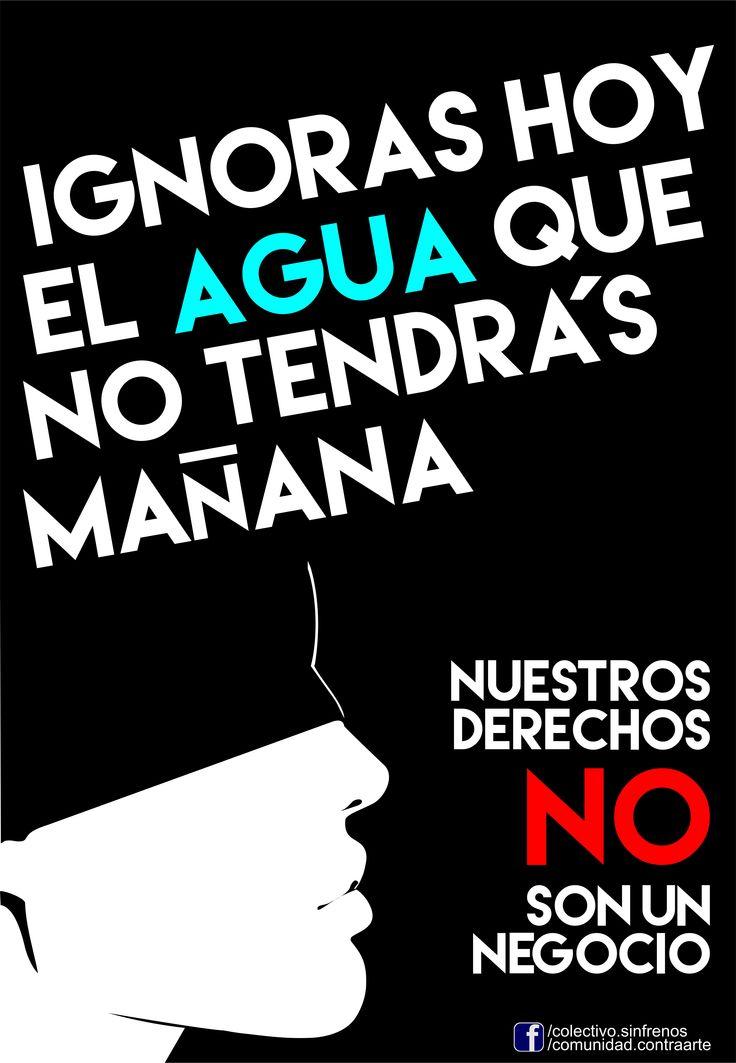 #TomaConciencia Cuidemos del Agua!