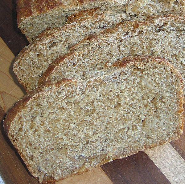 Sauerkraut Rye Bread Recipe. Great to use up leftover sauerkraut from New Years