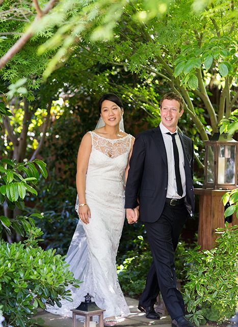 """Mark Zuckerberg and Priscilla Chan's Surprise Wedding...The Facebook King & His Bride Untied in 2012...Chan Seems, Like Mark, To Prefer Life Away From the Prying Cameras of the Press...Big Wishes This Works...Mark Does Seem To Be A """"Self-Indulged"""" Kinda Guy!!"""