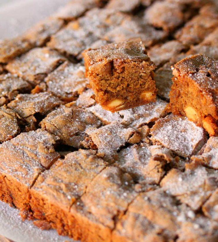 Brown Butter Pecan Blondies (Opposite Of Brownies!) - Cooking with Tenina