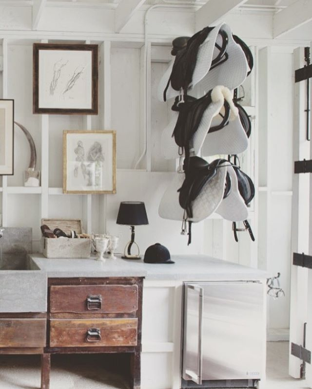 This Windsor Smith Designed Tack Room Is What Dreams Are Made Of. Equestrian  BedroomEquestrian DecorEquestrian ...