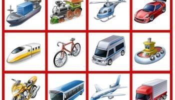 coleccion de videos para trabajar los medios de transporte