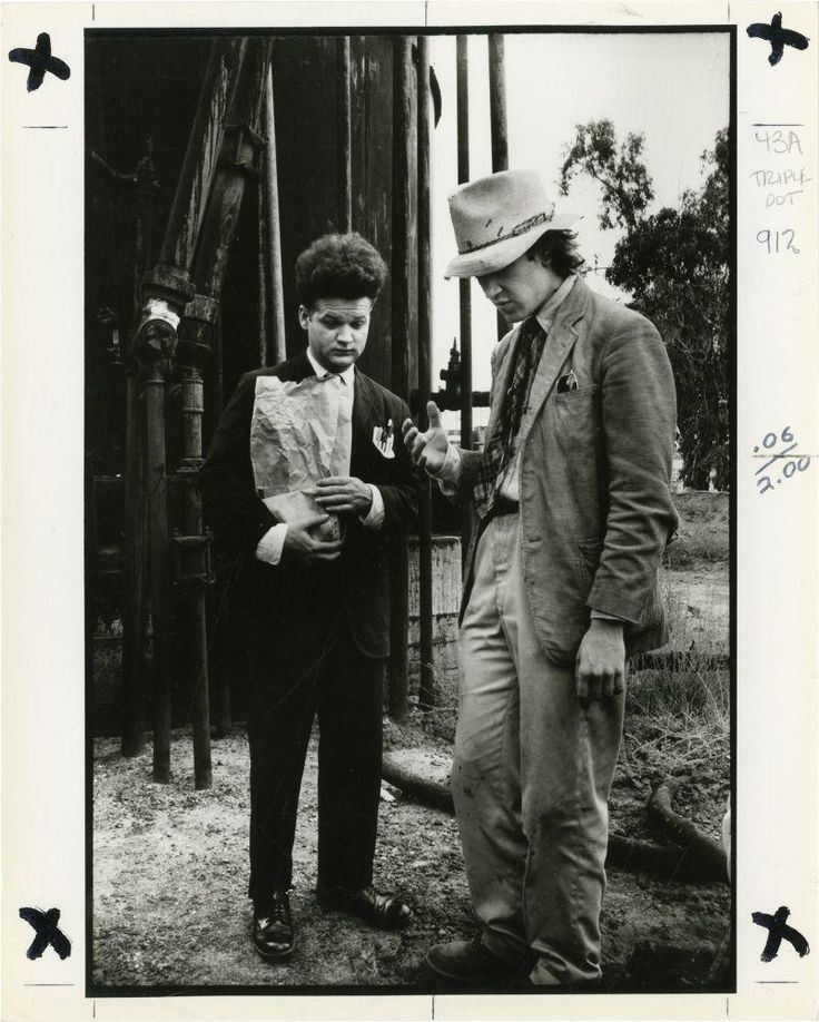 Eraserhead (Two original photographs from the set of the 1977 film) Lynch, David (director); Jack Nance (starring)