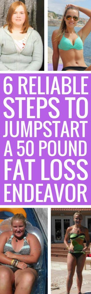 6 Ways To Jumpstart A 50 Pound Weight Loss Journey #health #fat #lose #fitness