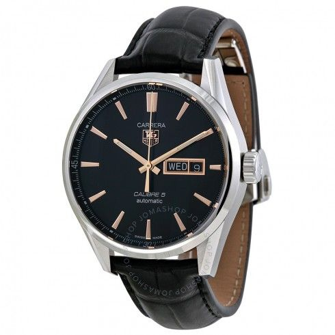 Tag Heuer Carrera Automatic Black Dial Men's Watch WAR201CFC6266