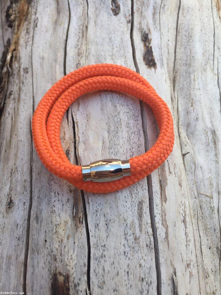 Neon orange bracelet  / Oranžový náramok