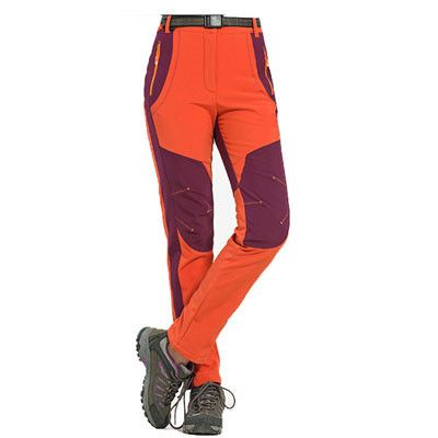 Winter Men Women Hiking Pants Outdoor Softshell Trousers Waterproof Windproof Thermal for Camping Ski Climbing RM032