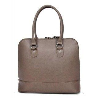 Patricia - geanta din piele naturala - taupe