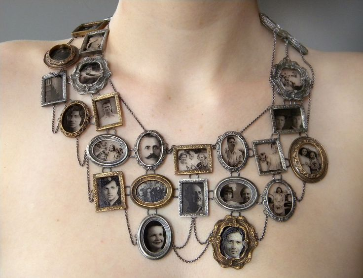Ashley Gilreath - I Am Who They Were (neckpiece), 2011 Decal photographs, sterling silver, bronze, optical glass  Collection of the artist  Photo by Michael Webster Gilreath_Ashley_I-Am-Who-They-Were-Neckpiece.jpg