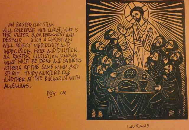"""The Catholic Worker, February 1940, 7. By Dorothy Day Summary: Restates the central vision of the Catholic Worker Movement as working for """"a new heaven and a newearth,wherein justice dwelleth."""" T..."""