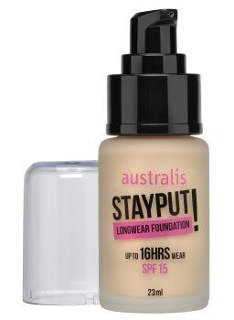 Australis Stayput Longwear Foundation (Nude) - Cruelty Free and Vegan Friendly - I think this will be my next foundation.