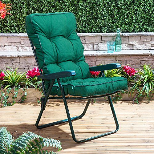 buy now £24.99 The Classic Recliner Cushion is a comfortable button-back garden chair & Best 25+ Garden recliner chairs ideas on Pinterest | Reclining ... islam-shia.org
