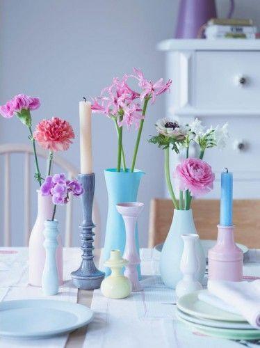 Swiss Sense bedroom inspiration #flowers #pastel <3