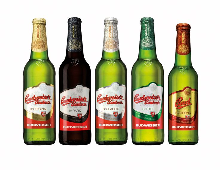 Budweiser Budvar im neuen Design