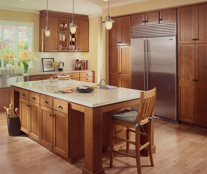 Can I Use Kitchen Cabinets In The Bathroom: Homecrest_Cabinets_Casual_Design_Style