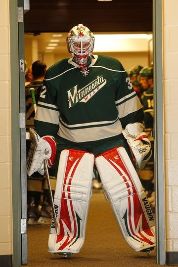 Ok, I know he's not a Penguin but this picture is awesome (and the Wild are my #2 team...)