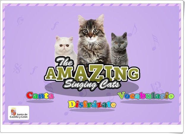 """Vacaciones de Verano de Infantil: """"The Amazing Singing Cats"""" (Junta de Castilla y León)"""