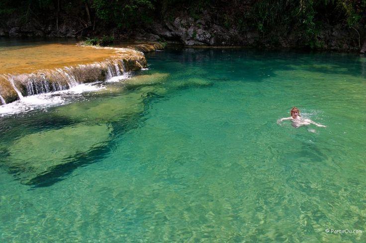 Semuc Champey Guatemala   #Stein #alvaro stein #guatemala #coban #travel #visit #turismo #agua #water #fun #nature
