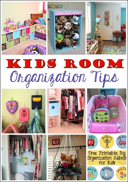 Nice 12 Fantastic Ways To Organize Kidsu0027 Bedrooms And Bathrooms