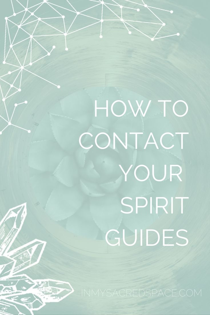 Learn how to communicate with your spirit guides and contact your spirit team.