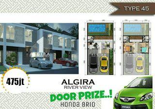 Rumah Impian Ku: Doorprize Honda Brio Dari Algira River View