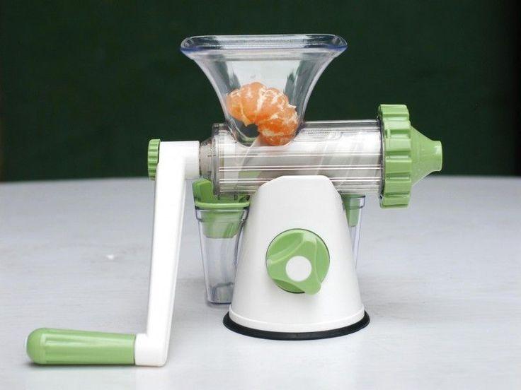 Storcatorul manual de fructe si legume este eficient si bun, usor de folosit si de curatat.