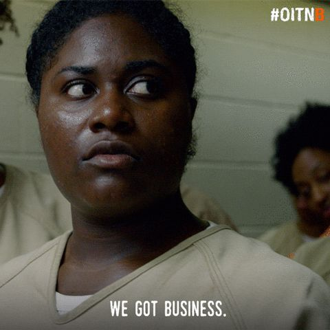 netflix orange is the new black oitnb taystee danielle brooks oitnb season 5 tasha jefferson we got business