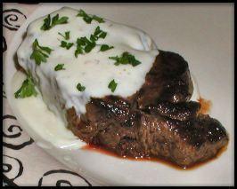 Steak Roquefort