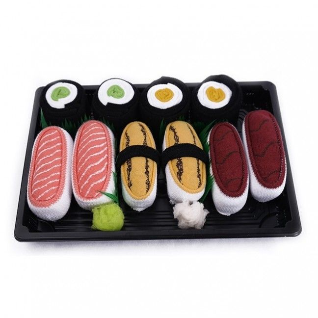 5 pairs of sushi socks <3   Gift for sushi lovers! socks.place