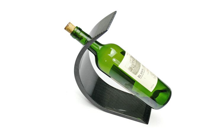 2015 Newest Stylish Wine Rack  Real Carbon Fiber Material Arc Wine Rack / Accept Wholesale-in Wine Racks from Home & Garden on Aliexpress.com | Alibaba Group