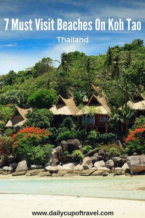 For such a small island, Koh Tao has a huge amount of things to do, viewpoints to visit and beaches to chill out on. We must say, there are far more beaches on Koh Tao than what we mention. But these seven beaches below are our favourites and are definitely worth a visit when travelling to this little paradise...