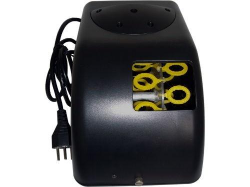 Máquina de Bolha de Sabão Aura ATB + Fluido para Bolhas de Sabão: ventilador, fusível para proteção. R$168.90 em http://www.aririu.com.br/maquina-de-bolha-de-sabao-aura-atb-fluido-de-bolhas-sabao_149xJM