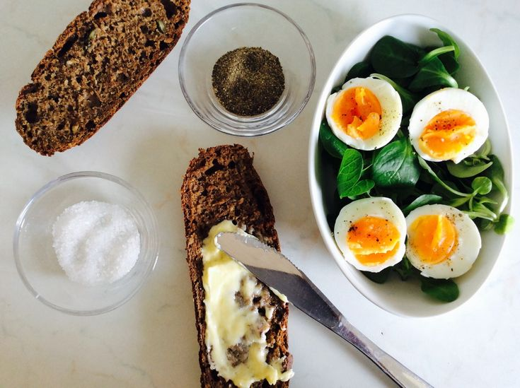Tetkin hleb i jaja s