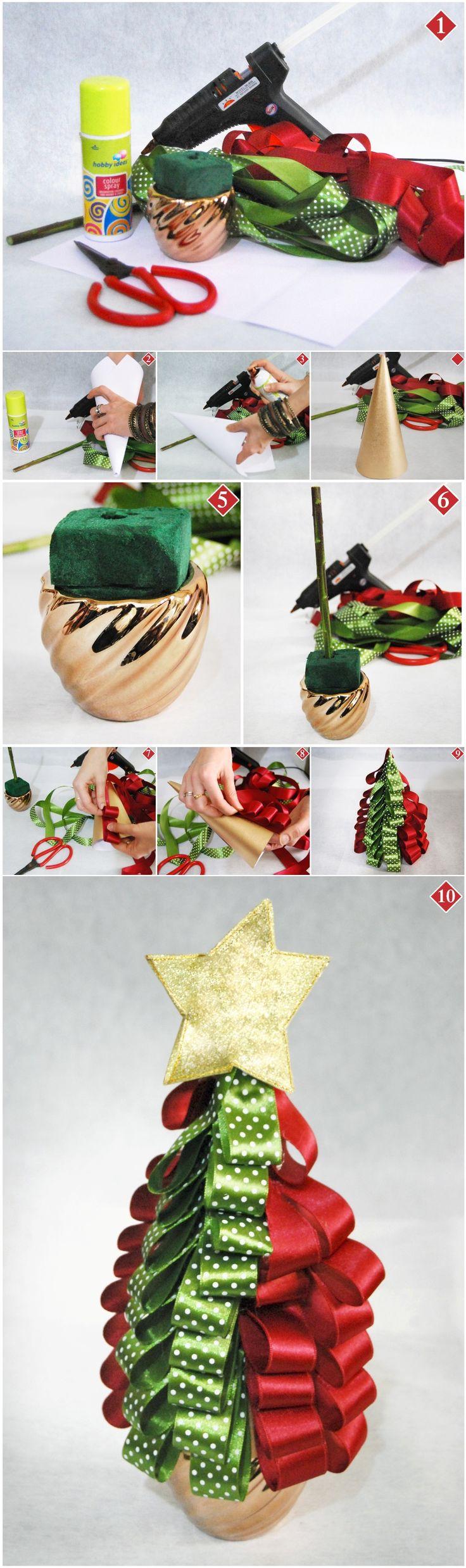 #DIY: Mini Christmas Tree