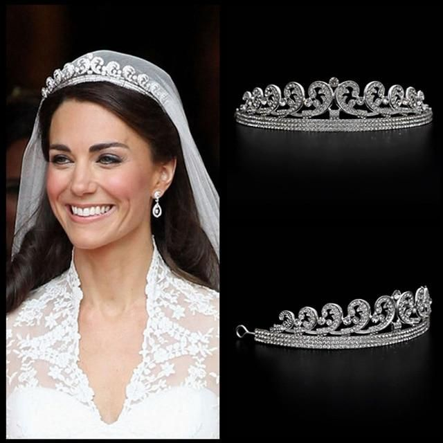 Kate Inspired Royal Tiara Tiaras And Crowns Hair Crown Wedding