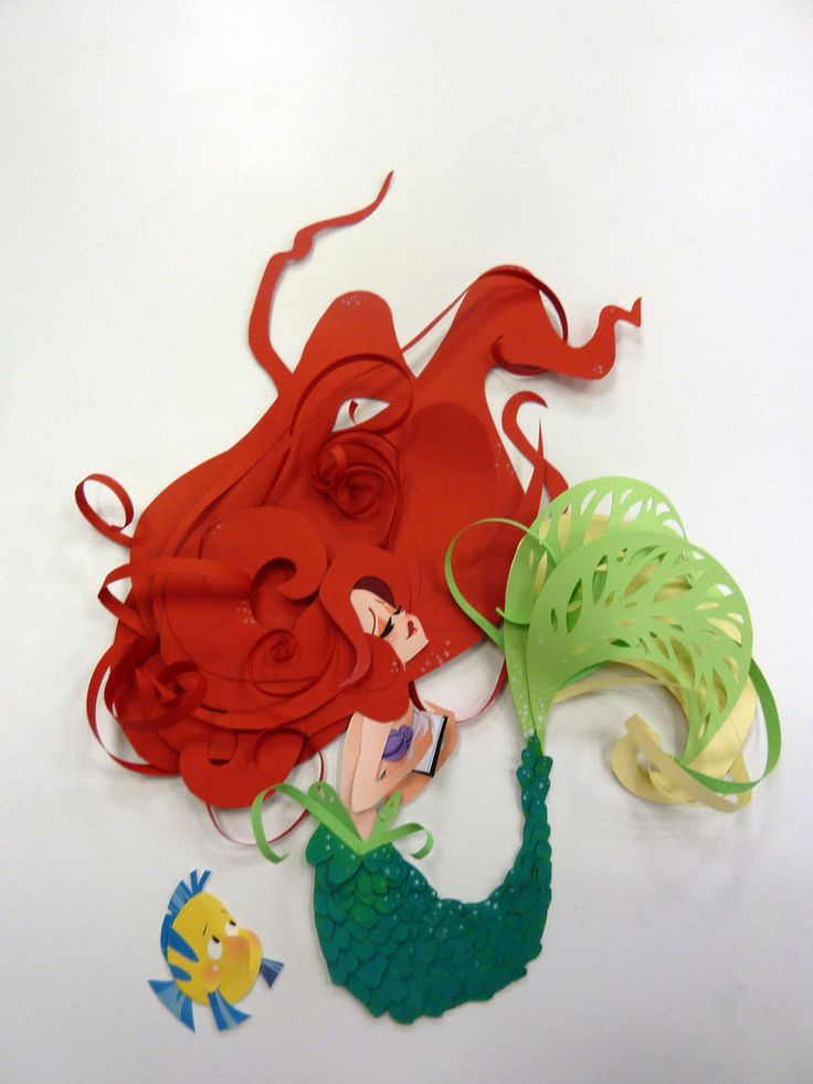 Ariel Paper Art so cool