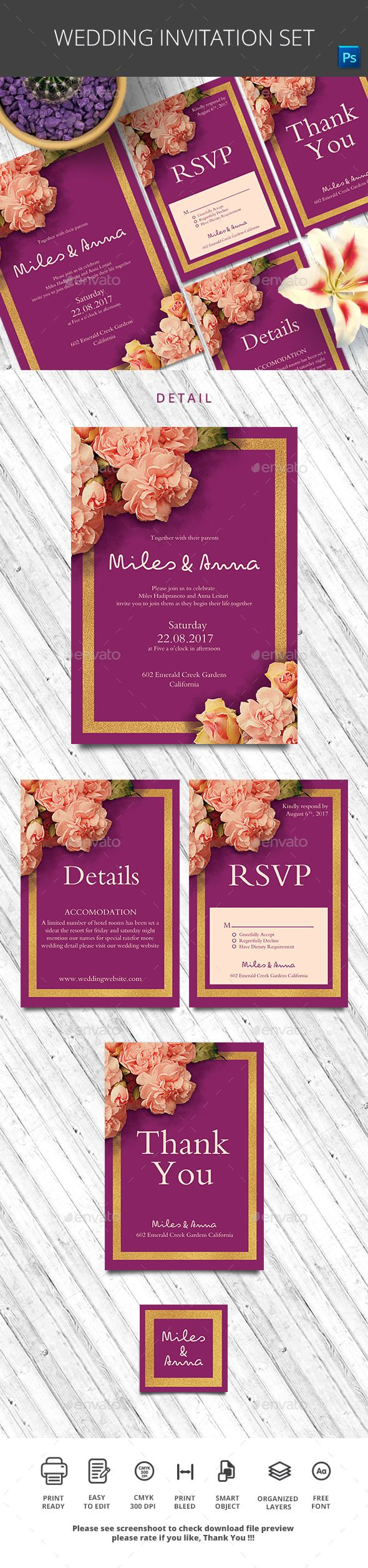 wedding invitation rsvp what does m mean%0A Wedding Invitation File Features   Wedding Invitation   inch Bleed area Wedding  RSVP     inch Bleed area