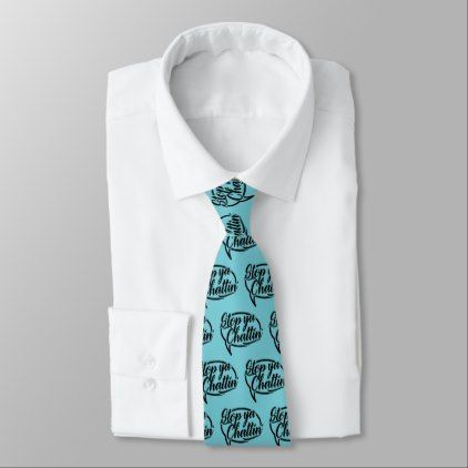 Stop Ya Chattin' Manchester Slang Dialect Tie - accessories accessory gift idea stylish unique custom