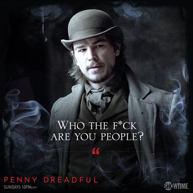 Penny Dreadful, Josh Hartnett as Ethan Chandler