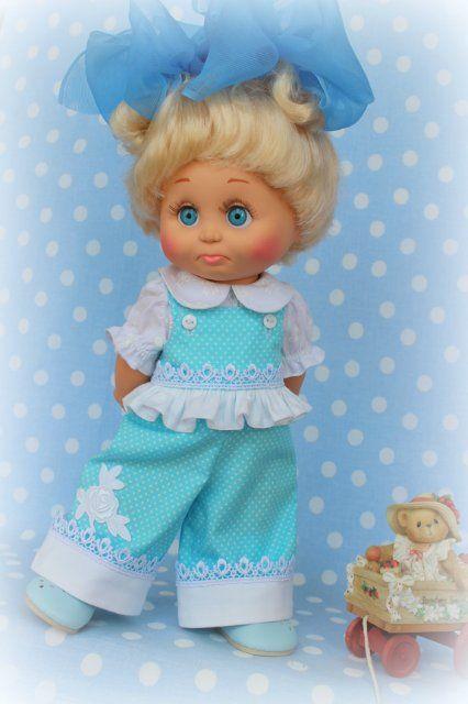 А у нас новый нарядик) / Куклы Galoob Baby Face dolls / Бэйбики. Куклы фото. Одежда для кукол
